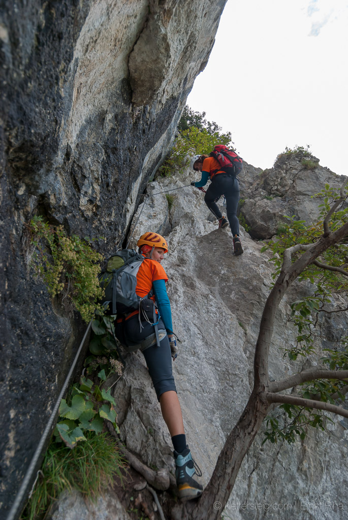 Kessi, Kapf, Saula - Klettersteige