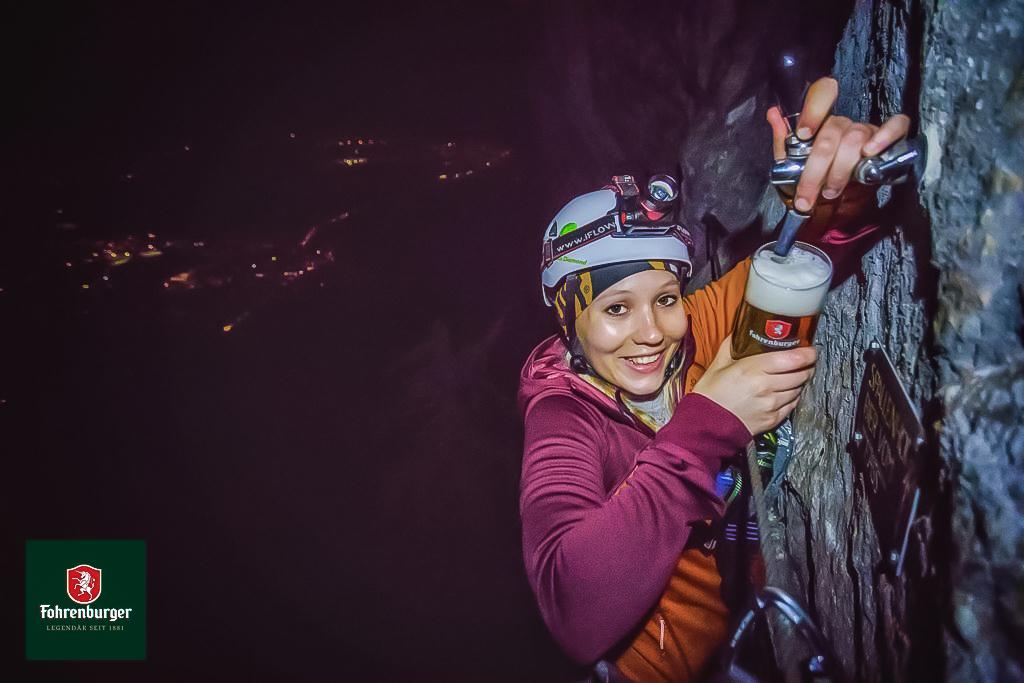 Klettersteig Via Kapf : Via kapf kessi Örfla kletterteige bei götzis